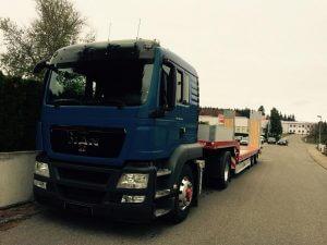 Bohren und Sprengen Schneider - Transporte